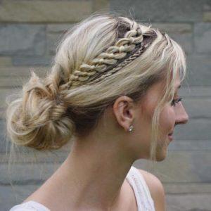 peinados con trenzas fáciles ascendientes