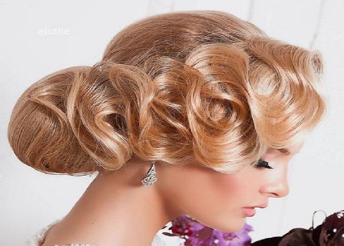 peinados para una boda con ondas