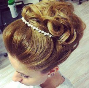 peinados para una boda de princesa