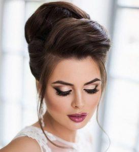 peinados para una boda de colmena