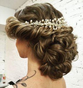 peinados para una boda clasica
