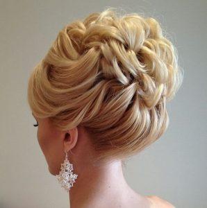 peinados para una boda con cabello corto