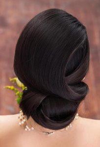 peinados para una boda romantica