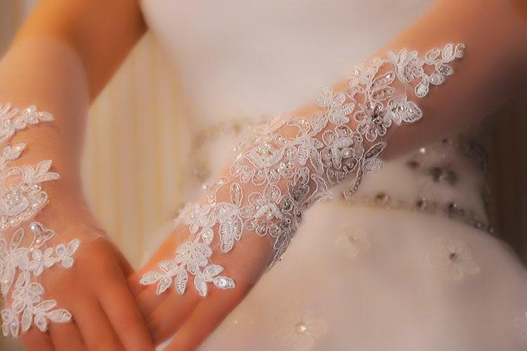 guantes de boda