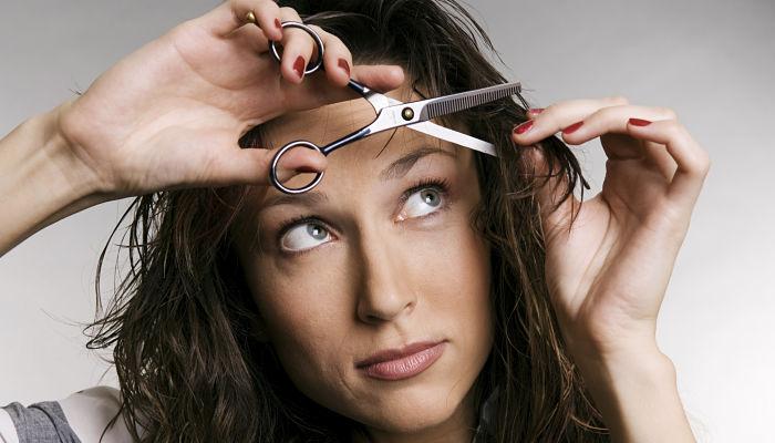 cortar el pelo a capas