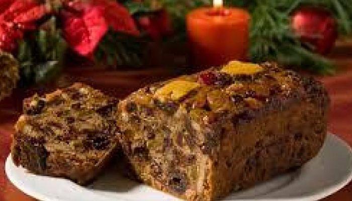 Receta de navidad pastel de fruta