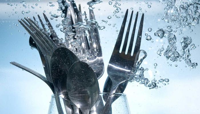 acero inoxidable utensilios