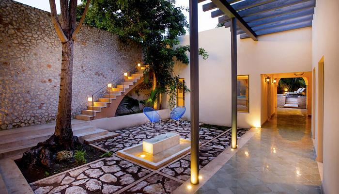 jardines casas modernas por dentro
