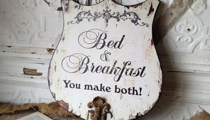 qué es un bed and breakfast