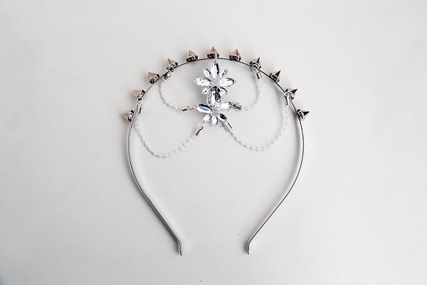 accesorios para el cabello con perlas