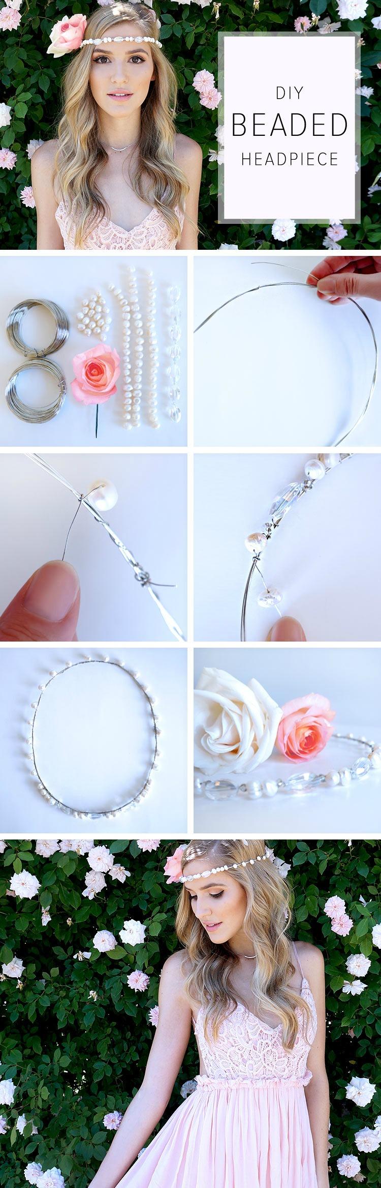 hacer accesorios para el cabello con flores
