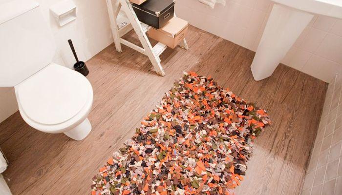 Ideas de alfombras hechas a mano renueva tu hogar y recicla - Alfombras hechas a mano con lana ...