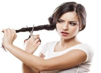 cortarte el cabello tú misma