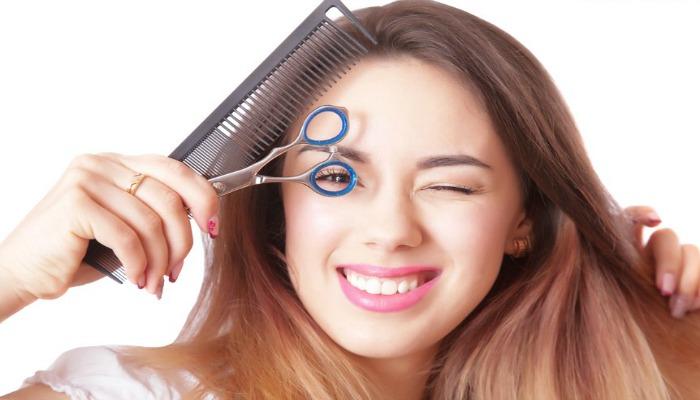 cortarte el cabello tu misma en casa