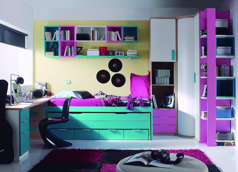 9 pasos a seguir en la decoraci n de habitaciones juveniles modernas - Juegos de decorar habitaciones grandes ...