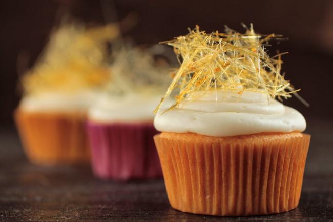 cupcakes decorados con jaulas de azucar