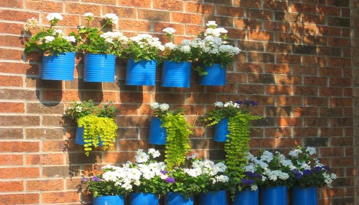 decorar la casa reciclando latas