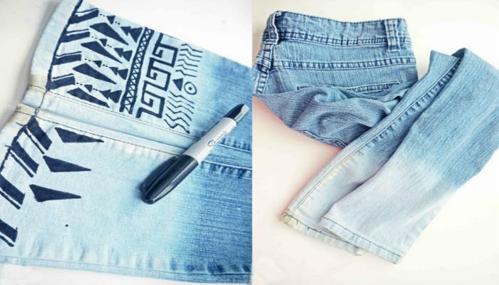 transformar mis jeans con estampados