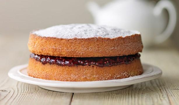 decorar pasteles con azucar en polvo