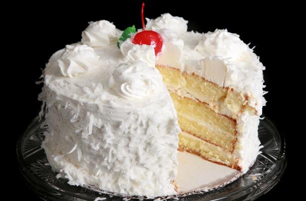 decorar pasteles con coco