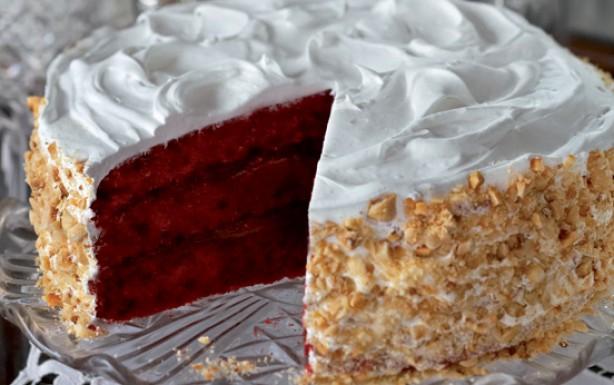 decorar pasteles con nueces