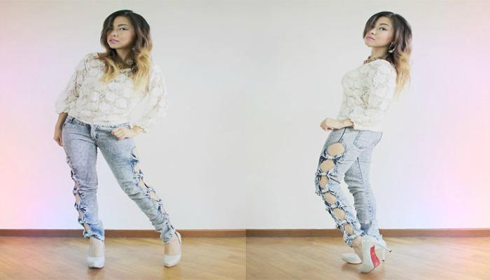 manualidades para decorar tus jeans