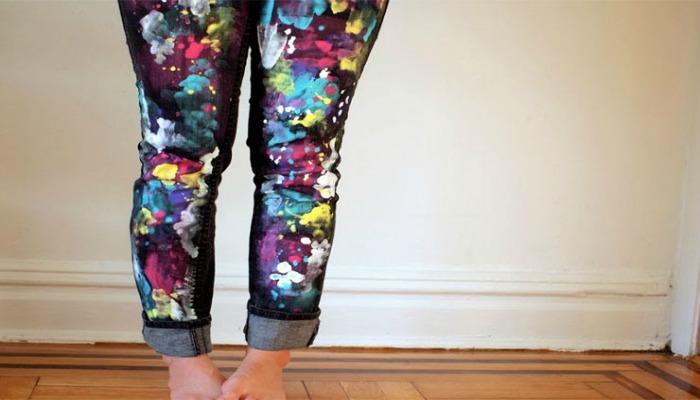 experimenta al decorar tus jeans