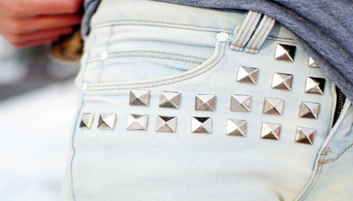 decoración de jeans