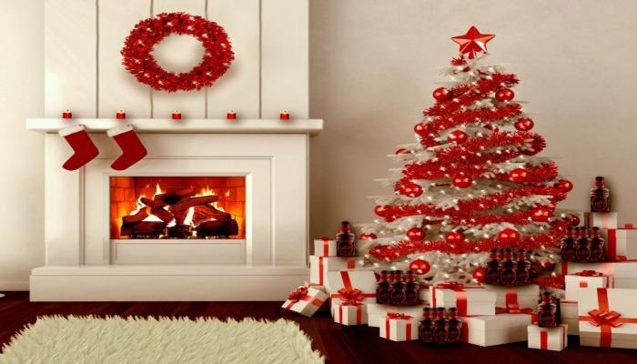 decorar un árbol de navidad con colores