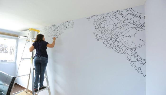 cómo decorar las paredes de un cuarto