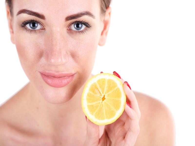 propiedades del limón para la piel