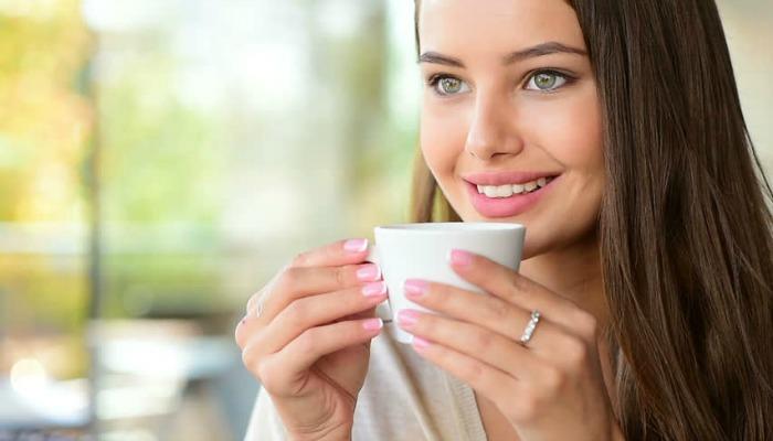 beber té verde para la piel y el cabello