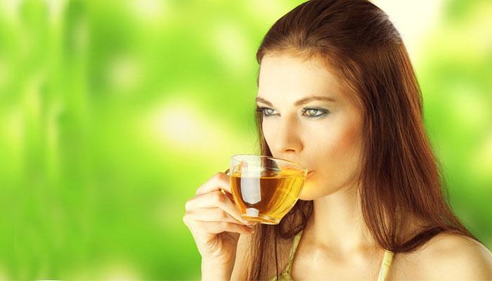 té verde para la piel