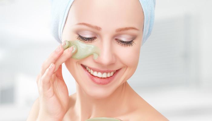 mascarillas de té verde para la piel