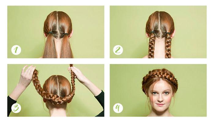 como hacer peinados en casa