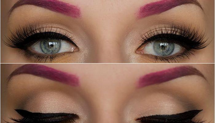 como teñir las cejas