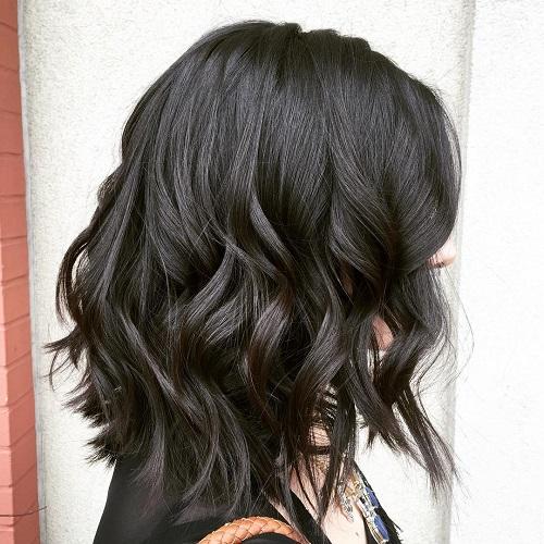 cortes de cabello bob sexy y negro
