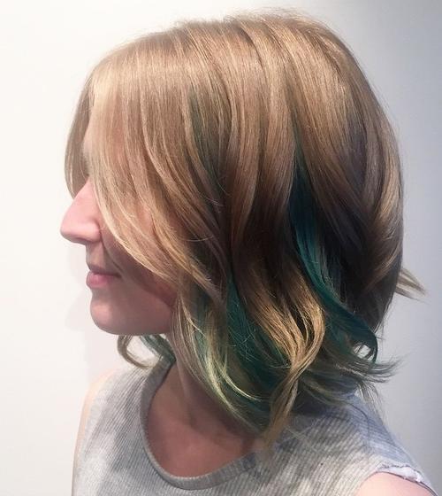 cortes de cabello bob ondulados