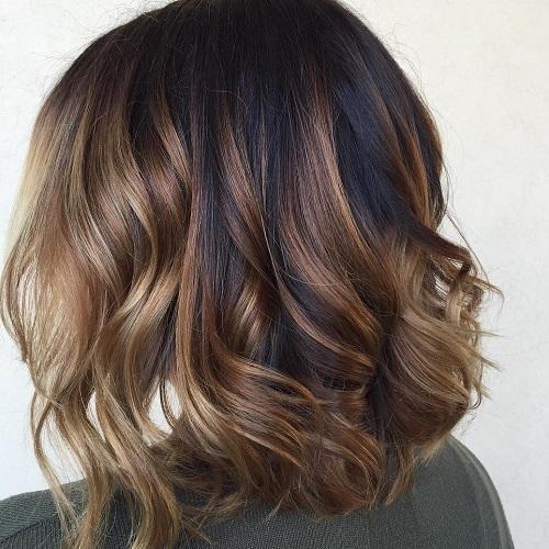 cortes de cabello bob de apariencia natural