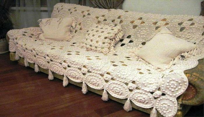 decoración shabby chic en muebles