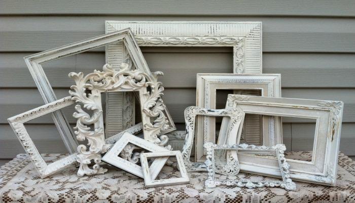 marcos de decoración shabby chic