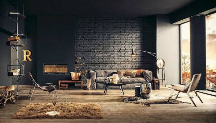 decorar la casa al estilo industrial chic