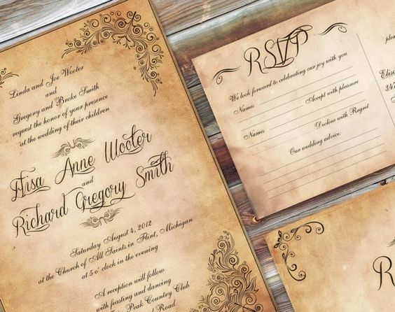 decorar tu boda vintage
