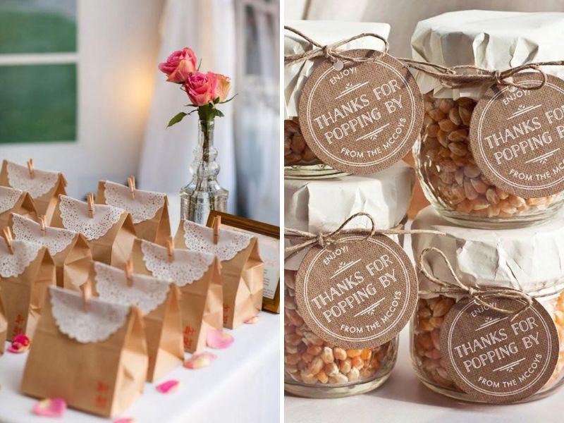decorar recuerditos de tu boda vintage