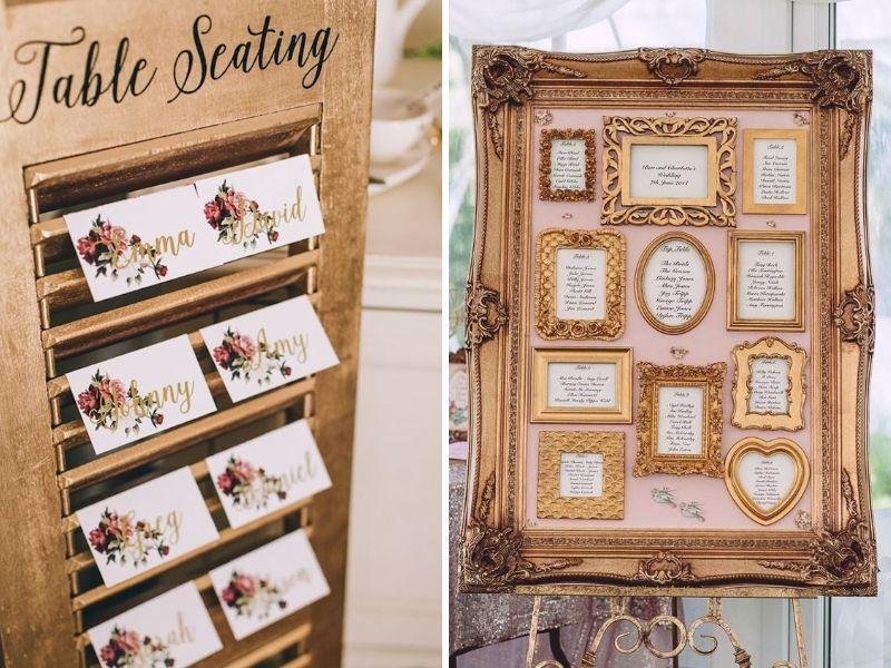 detalles para decorar tu boda vintage