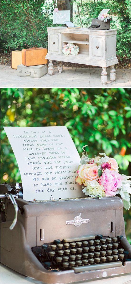 decorar tu boda vintage con muebles