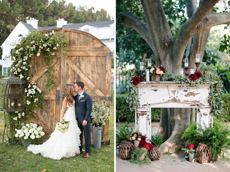 fondos para decorar tu boda vintage