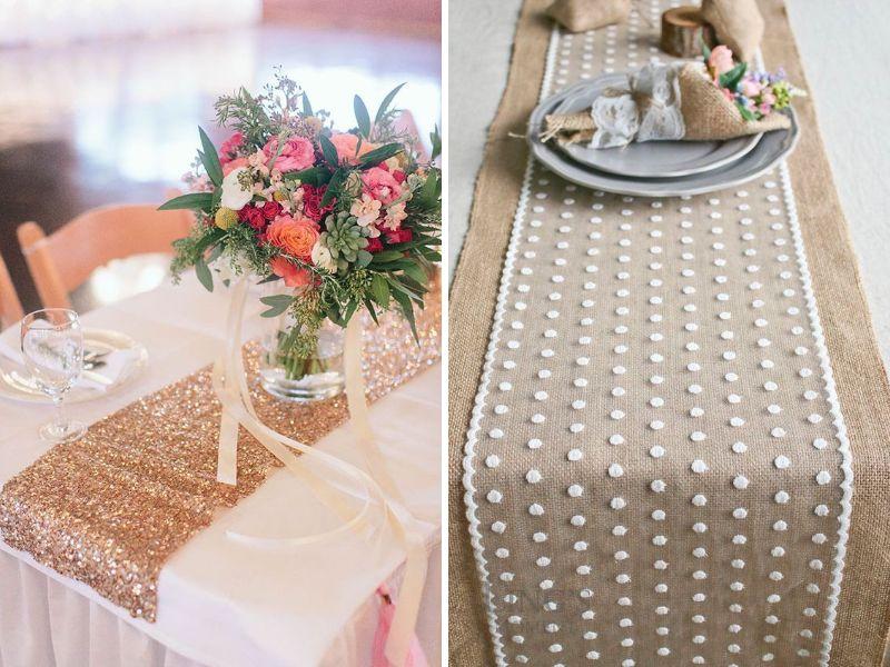 decorar las mesas de tu boda vintage