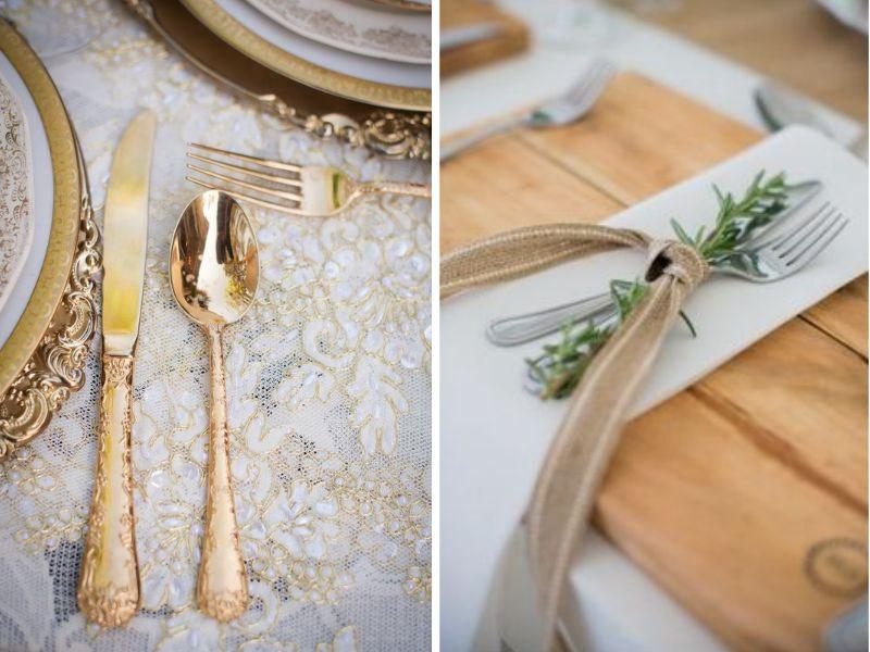 objetos para decorar tu boda vintage