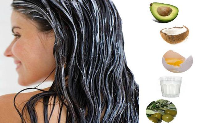 remedios caseros para el cabello liso con aceite de oliva